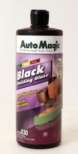Black finishing glaze
