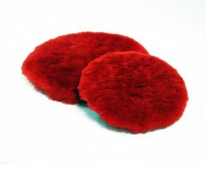 rød ull
